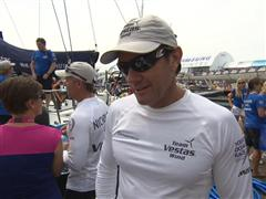 Leg 8 Start Interview with Tony Rae (NZL)