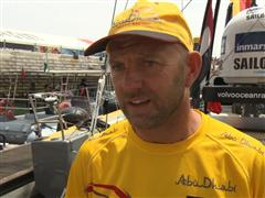 Leg 8 Start Interview with Ian Walker (GBR)