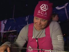 Leg 8 Win Interview with Sally Barkow (USA)