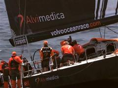 Team Alvimedica wins penultimate In-Port Race in Lorient