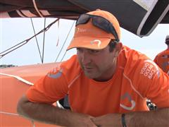 Lorient SCA In-Port Race Win Interview with Charlie Enright (USA)