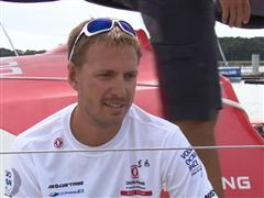 Lorient SCA In-Port Race 3rd place Interview with Martin Stromberg (SWE)