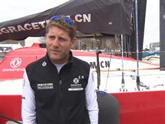 Pre-Leg 9 Interviews with Charles Caudrelier (FRA)