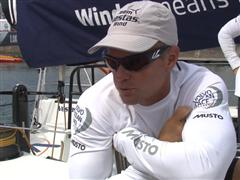 Pre-Leg 9 Interview with Chris Nicholson (AUS)