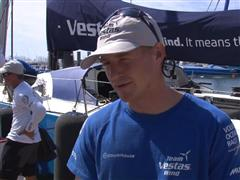 Pre-Leg 9 Interview with Nicolai Sehested (DEN)