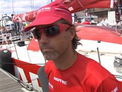 Pre-Leg 9 Interviews with Iker Martinez (ESP)