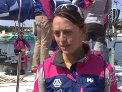 Pre-Leg 9 Interview with Justine Mettraux (SUI)