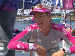 Pre-Leg 9 Interviews with Carolijn Brouwer (NED)