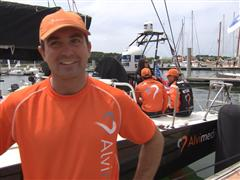 Pre-Leg 9 Interview with Charlie Enright (USA)