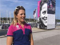 Pre-Leg 9 Interviews with Samantha Davies (GBR)
