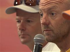 Leg 9 Skippers' Press Conference