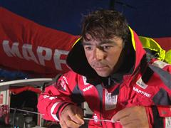 The Hague Pit Stop arrival Interview - André Fonseca (BRA)