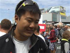 Leg 9 Restart  Interview - Wolf (CHN)