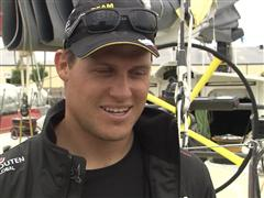 Gothenburg In-Port Race Interview with Rokas Milevicius (LIT)
