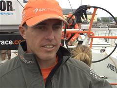 Gothenburg In-Port Race Interview with Alberto Bolzan (ITA)