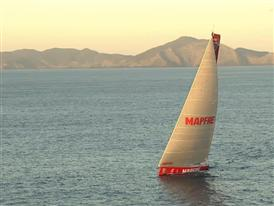 MAPFRE wins Leg 4 of the Volvo Ocean Race, Abu Dhabi Ocean Racing and Dongfeng Race Team on the podium