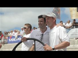 Luis Figo Sails On-Board Abu Dhabi