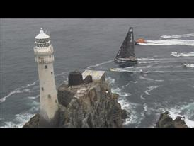 Fleet Rounds Fastnet, Reaches Irish Coast