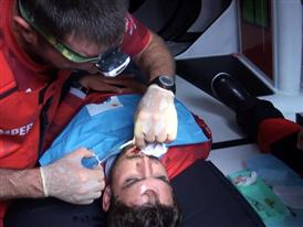 Volvo Ocean Race VNR - Last medical training for the Volvo Ocean Race onboard sailors
