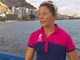 Volvo Ocean Race - Pre In-Port Interview with Samantha Davies