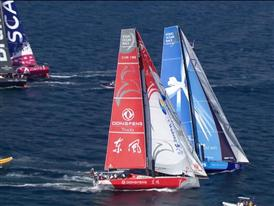 VNR - Team Alvimedica wins first In-Port Race in Alicante