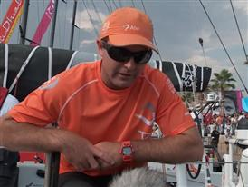 Post In Port Race ITV with Charlie Enright (Skipper - team Alvimedica)