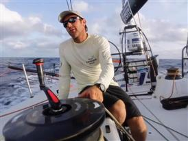 The Volvo Ocean Race fleet enters the Doldrums - patience and first showers
