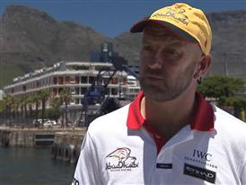Pre-Leg 2 start Interview with Ian Walker in English