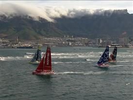 Leg 2 Start from Cape Town - Team Brunel in the lead