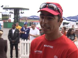 Leg 3 Start Interview with Andre Fonseca (PORT/BRA)