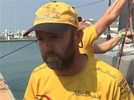 Abu Dhabi Ocean Racing and Team Alvimedica on the podium, MAPFRE and Team Brunel less than two minutes apart