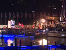 Team SCA crossed Leg 3's finish line in Sanya - Arrivals