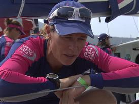 Leg 4 dock interviews with Carolijn Brouwer (NED)