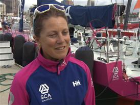 Samantha Davies (Team SCA)