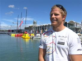 Pre-Leg 5 interview with Luke Parkinson (AUS)