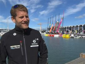 Pre-Leg 5 interviews with Charles Caudrelier (FRA)