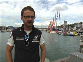 Pre-Leg 5 interview with Pascal Bidegorry (FRA)