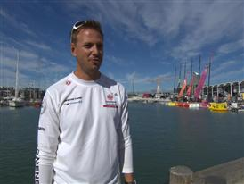 Pre-Leg 5 interviews with Martin Stromberg (SWE)