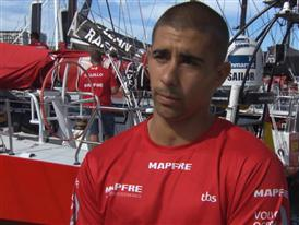 Pre-Leg 5 interviews with Willy Altadil (ESP)
