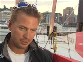 Leg 5 - Dock interview with Martin Stromberg (SWE)