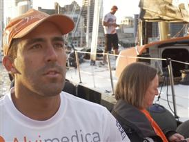 Leg 5 - Dock interview with Mark Towill (USA)