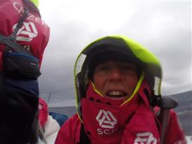 Interview with Samantha Davies (GBR) in French