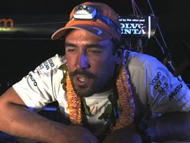 Leg 5 Finish Interview with Mark Towill (USA)