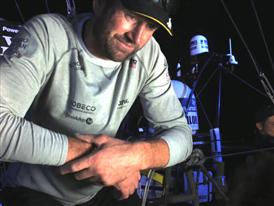 Leg 5 Finish Dock Interview with Jens Dolmer (DEN)