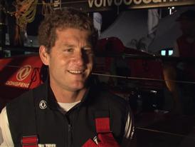 Dock Interviews at Dongfeng Race Team's Volvo Ocean 65 arrival in Itajai