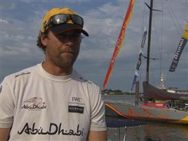 Pre-Leg 6 Interview with Daryl Wislang (NZL)