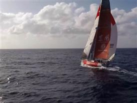Bermuda Triangle, MAPFRE knocked down and new fleet compression
