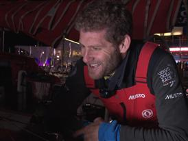 Leg 6 arrival interviews with Charles Caudrelier (ENG)