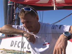 Leg 7 arrival Interview with Martin Stromberg (SWE)