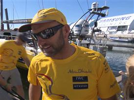Leg 7 arrival Interview with Ian Walker (GBR)